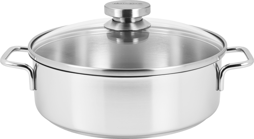 DEMEYERE Apollo Lage kookpot 24cm met glasdeksel