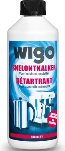 WIGO Snelontkalker 10x500ml Biologisch afbreekbaar - op basis van enzymen