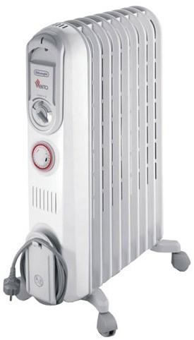 DELONGHI Olie radiator 60m³, 9 fins, 3 heating settings, max 2000W