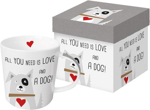 PPD Trend Mug GB Love and Dog