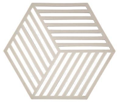 ZONE DENMAKR Trivet Warm Grey Hexagon