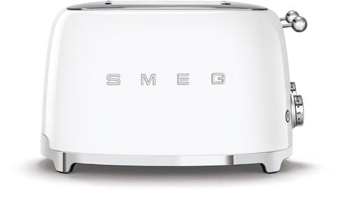 SMEG TSF03WHEU Broodrooster - 4 sleuven 4 sneden - wit