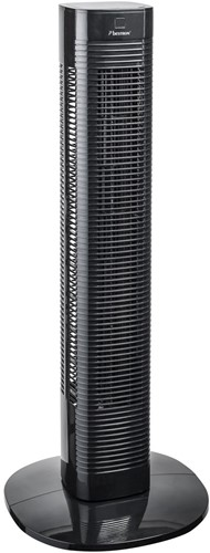 BESTRON AFT80ZRC Towerventilator Met Afstandsbediening zwart