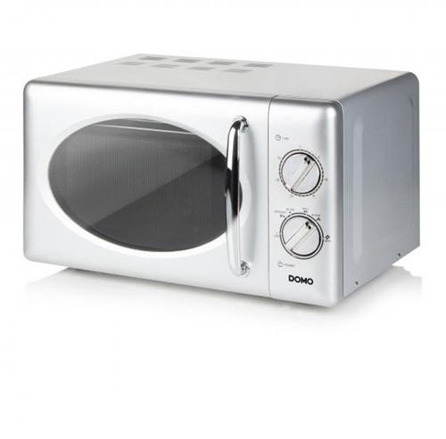 DOMO DO3020 Microgolfoven zilver - mechanisch - 20L