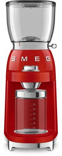 SMEG CGF01RDEU Koffiemolen - rood