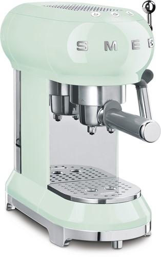 SMEG ECF01PGEU  Espresso koffiemachine - pastelgroen