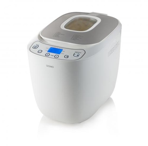 DOMO B3963 Broodmachine wit/zilver 700-1000g