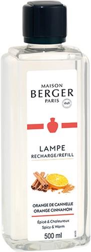 LAMPE BERGER PARFUM 500ML ORANGE CANNELLE - ORANGE CINNAMON