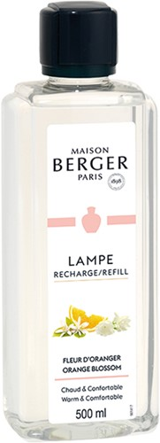 LAMPE BERGER PARFUM 500ML FLEUR D'ORANGER-ORANGE BLOSSOM
