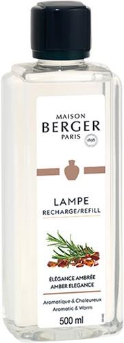 LAMPE BERGER PARFUM 500ML ELEGANCE AMBREE-AMBER ELEGANCE