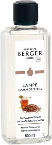 LAMPE BERGER PARFUM 500ML SANTAL ENVOUTANT-ENCHANTING SANDELWOOD
