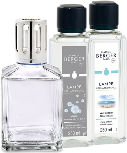 LAMPE BERGER LAMP GIFTSET ESSENTIELLE CARRE
