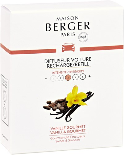 LAMPE BERGER Navulling car diffuser RECHARGE DIFF.VOITURE VANILLE