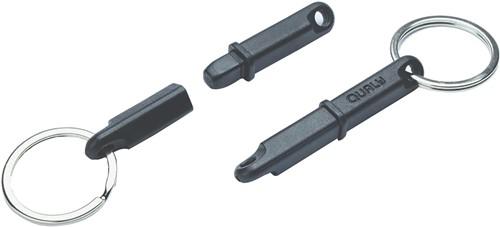 QUALY Push Stick Black