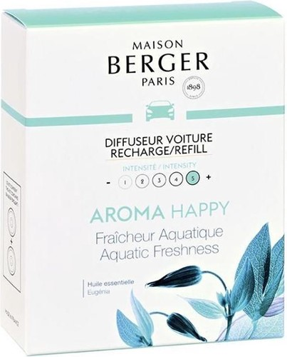 LAMPE BERGER Navulling car diffuser RECHARGE DIFF.VOITURE HAPPY