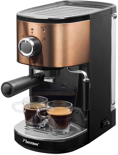 BESTRON AES1000CO Espresso Apparaat Koper