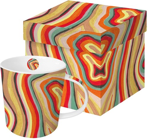 PPD 604203 Colourful stripes tas