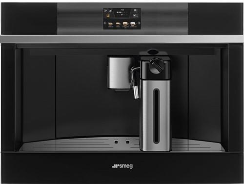SMEG CMS4104N Automatische koffiemachine - COMPACT 45 CM - zwart