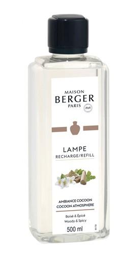 LAMPE BERGER Parfum voor lamp 500 ML AMBIANCE COCOON-COCOON ATMOSPHERE