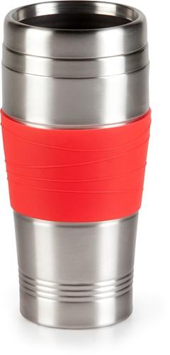 DOMO DO438K-B Beker My Coffee rood