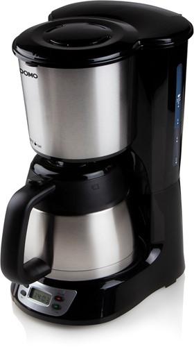 DOMO DO709K Koffiezet zwart/rvs - 1L -  isoleerkan