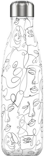 CHILLYS B500LDFCE Line Art Faces 500ml