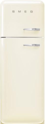 SMEG FAB30LCR5 Koelkast/diepvriezer - 222 L+ 72 L - energieklasse D - jaren '50 - scharnieren links - crème