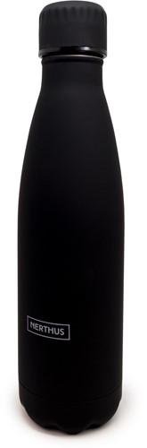 NERTHUS Drinkfles vacuüm 500ml zwart (warm en koud)