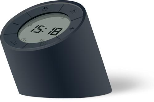 GINGKO The Edge Light Alarm Clock matte Black