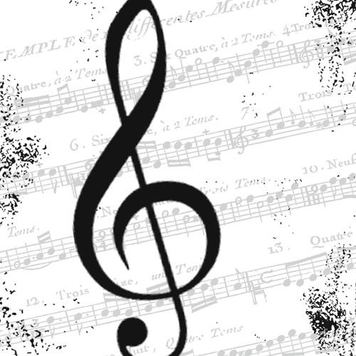 PPD I Love Music 25x25 cm