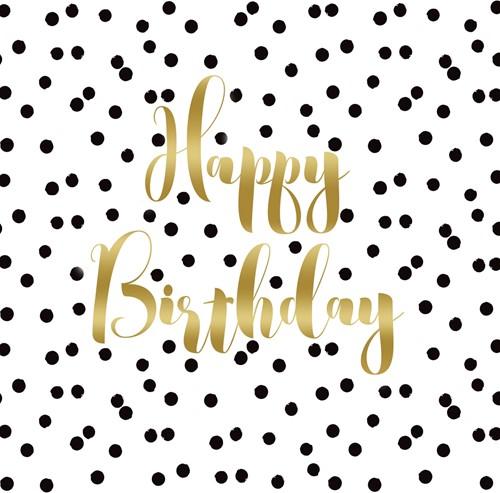 PPD Birthday Confetti 25x25 cm