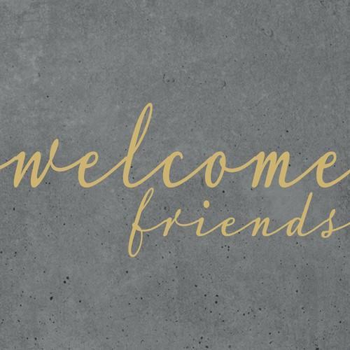 PPD Friends cement 25x25 cm