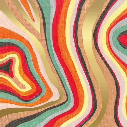 PPD Colourful Stripes Napkin 33x33