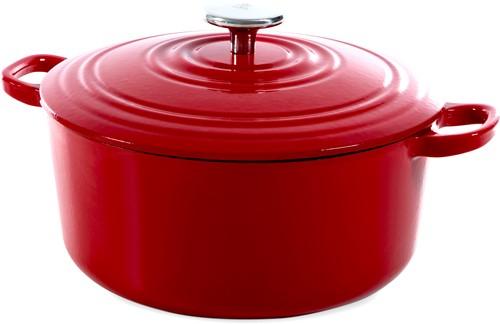 BK Bourgogne Bourgogne Stoofpot 24 cm Chili Red