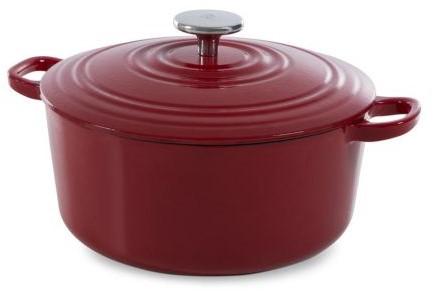 BK Bourgogne Bourgogne Stoofpot 20 cm Chili Red