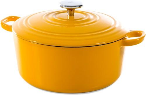 BK Bourgogne Stoofpot 24 cm Sunny Yellow