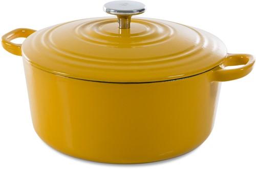 BK Bourgogne Bourgogne Stoofpot 28 cm Sunny Yellow