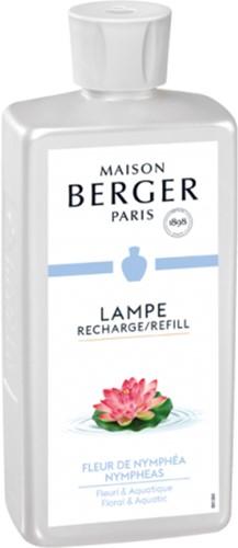 LAMPE BERGER PARFUM LAMP 1L FLEUR DE NYMPHEA-NYMPHEAS
