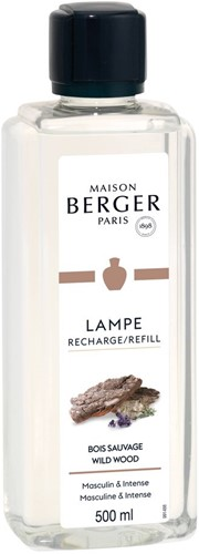 LAMPE BERGER PARFUM 500ML BOIS SAUVAGE- WILD WOOD