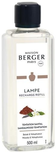 LAMPE BERGER PARFUM 500ML TENTATION SANTAL- SANDALWOOD TEMPTATION