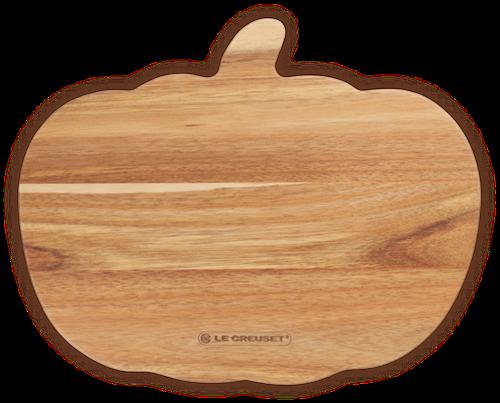 "Le Creuset Serveerplank """"Pompoen"""" Acacia hout"