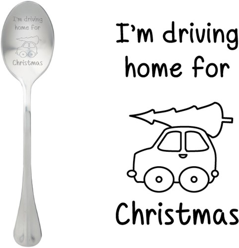 ONE MESSAGE SPOON Driving home for Christmas