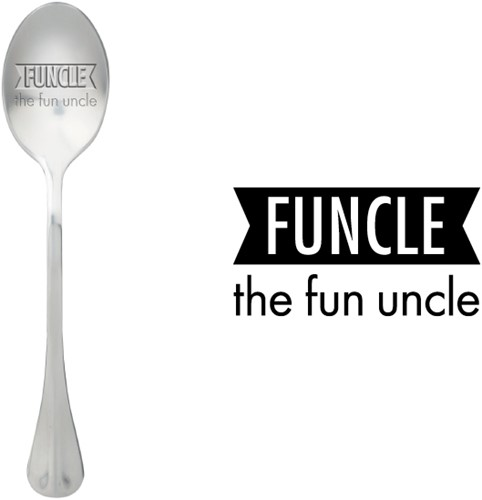 ONE MESSAGE SPOON Funcle the Fun uncle