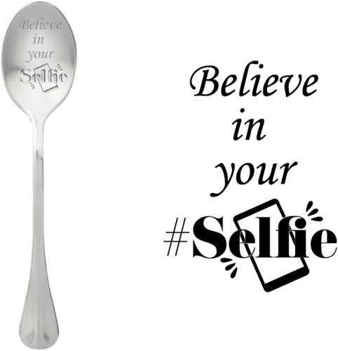 ONE MESSAGE SPOON Believe in your selfie