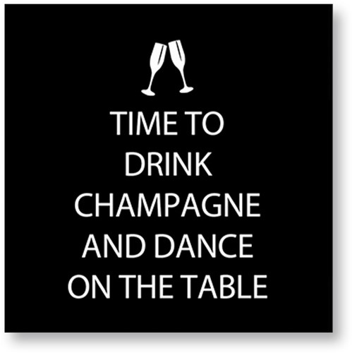 PPD Drink Champagne 25x25cm