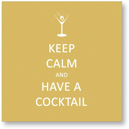 PPD Keep Calm... Cocktail 25x25 cm