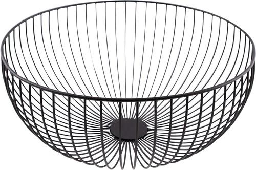 POINT-VIRGULE PV-CHR-3044 Wire mand zwart ø 30cm H 13cm