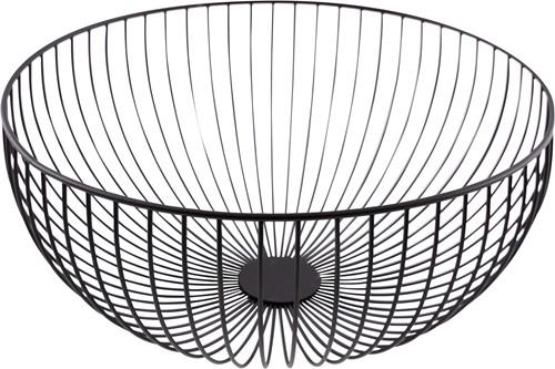 POINT-VIRGULE PV-CHR-3047 Wire mand zwart ø 35cm H 15cm