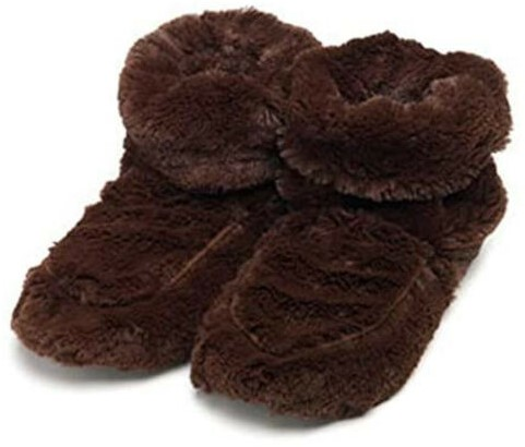 WARMIES PCGGB10617 Opwarmbare pantoffels bruin