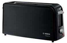 BOSCH TAT3A003 Broodrooster CompactClass Zwart Lange slot